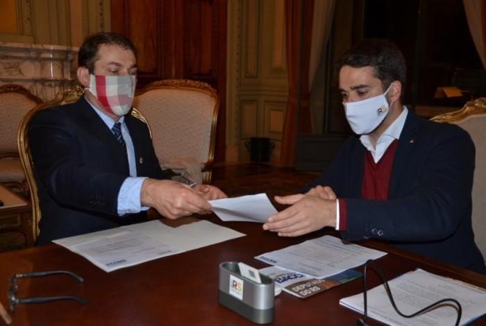 Líder da bancada do Partido Liberal na Assembleia Legislativa apresentou pedidos ao governador Eduardo Leite